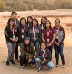 High school students from the Navajo Nation participate in Stanford Pre-Collegiate International Institutes.